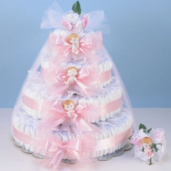 Diaper Cake Delight - Welcoming Home Baby  - 3