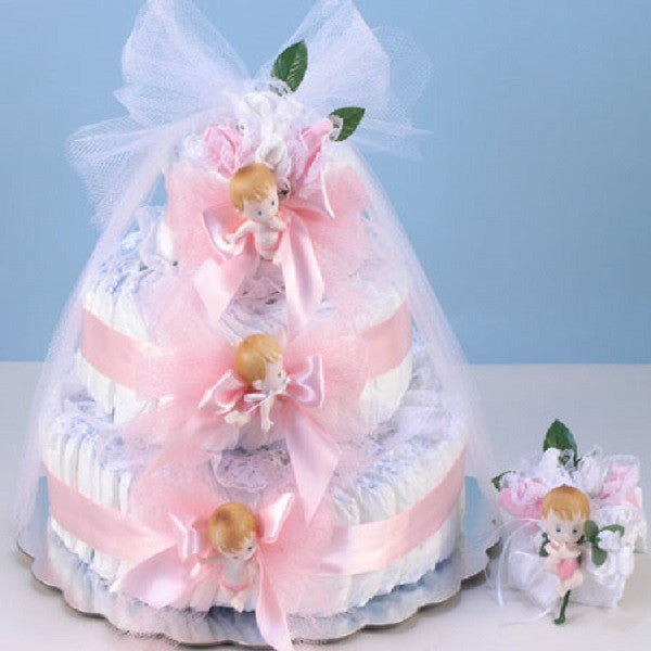 Diaper Cake Delight - Welcoming Home Baby  - 4