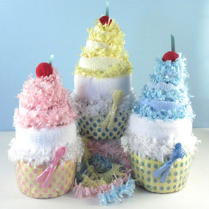 Diaper Cupcake - Welcoming Home Baby