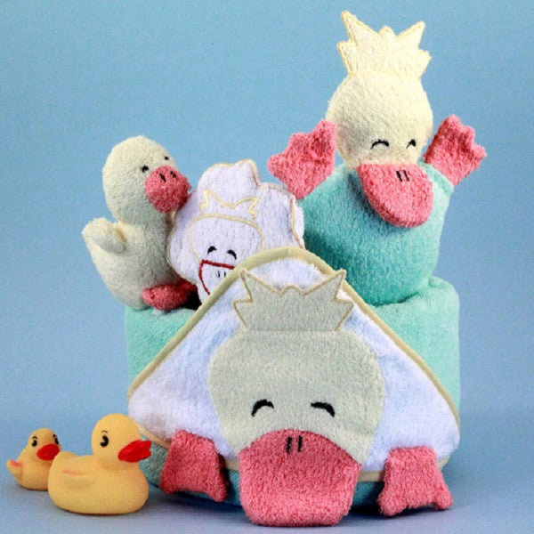 Ducky Hooded Towel - Welcoming Home Baby