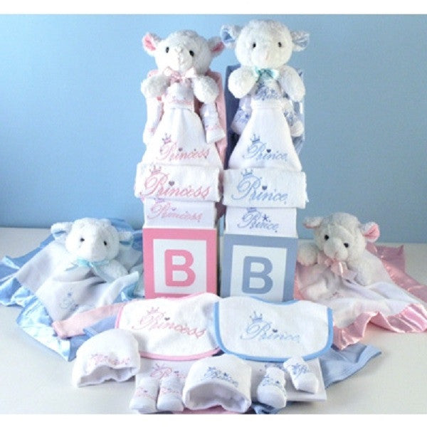 Twin Prince & Princess Gift Set