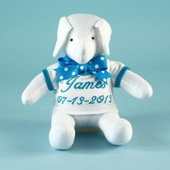 Keepsake Elephant Toy Personalized Baby Gift - Welcoming Home Baby  - 1
