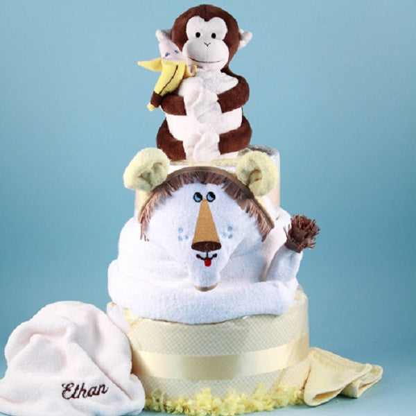 Lion King Diaper Cake - Welcoming Home Baby  - 1