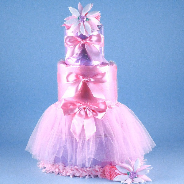 Tutu Tasty Baby Diaper Cake - Welcoming Home Baby