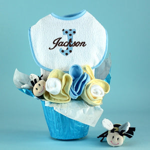 Personalized Pots of Luck Baby Gift - Welcoming Home Baby  - 1