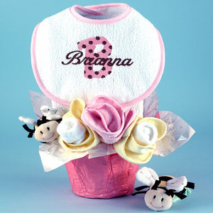Personalized Pots of Luck Baby Gift - Welcoming Home Baby  - 2