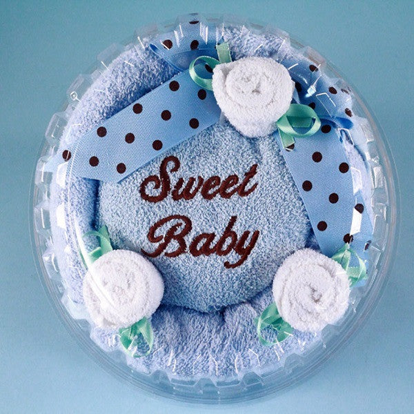 Sweet Baby Towel Cake