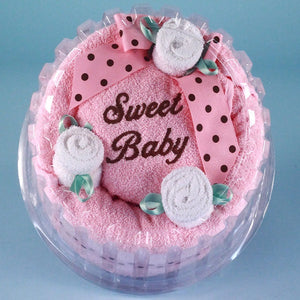 Sweet Baby Towel Cake - Welcoming Home Baby  - 2