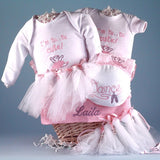 Little Ballerina Baby Gift Basket - Welcoming Home Baby  - 2