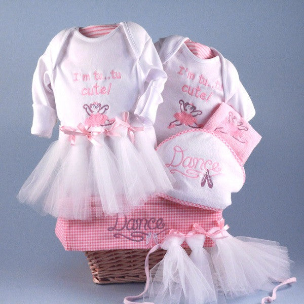 Little Ballerina Baby Gift Basket - Welcoming Home Baby  - 1