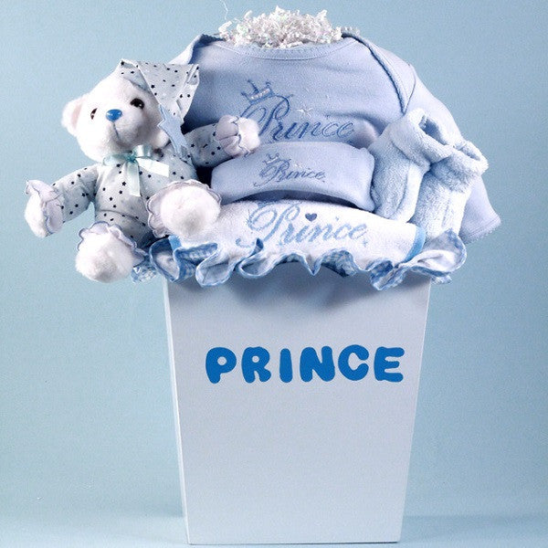 Prince or Princess Layette Baby Gift - Welcoming Home Baby  - 1