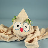Two Hoots Owl Baby Gift Basket for Twins - Welcoming Home Baby  - 2