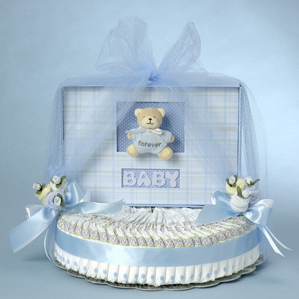 Forever Baby Book Diaper Cake - Welcoming Home Baby  - 1