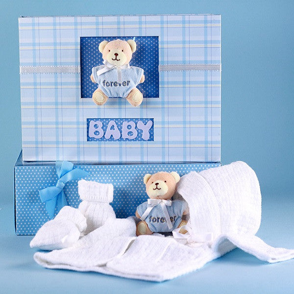 Knitted Sweater Set & Keepsake Album | Baby Book - Welcoming Home Baby  - 1