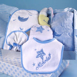Personalized Moon and Stars Layette - Welcoming Home Baby  - 1