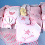 Personalized Moon and Stars Layette - Welcoming Home Baby  - 2
