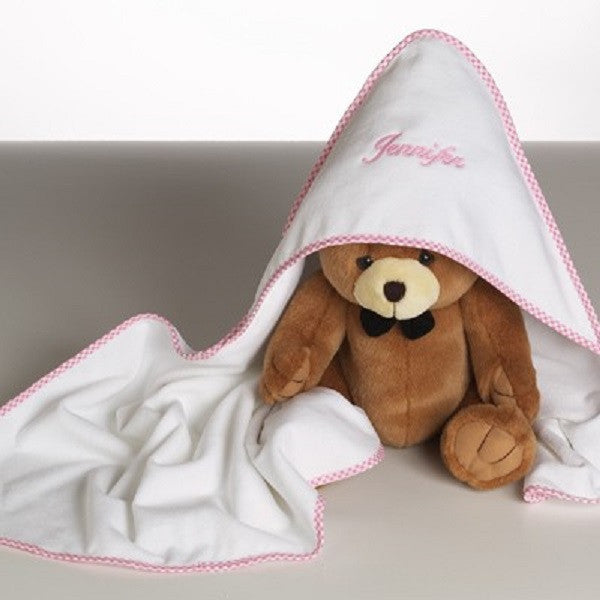 Personalized Hooded Towel - Welcoming Home Baby  - 1