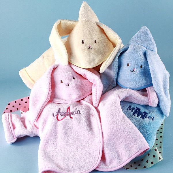 Hooded Bunny Personalized Baby Jackets