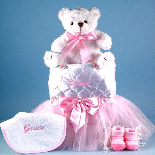 Tote,Tutu,Teddy Big Sister Gift - Welcoming Home Baby  - 3