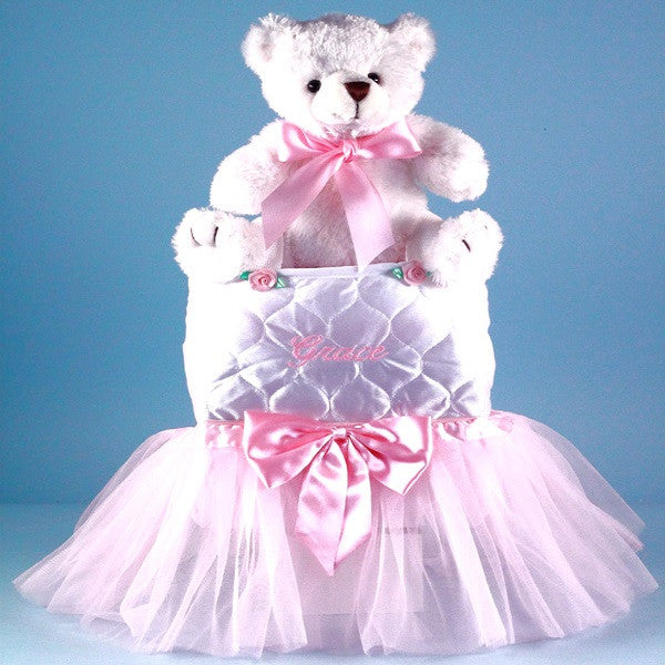 Tote,Tutu,Teddy Big Sister Gift - Welcoming Home Baby  - 1