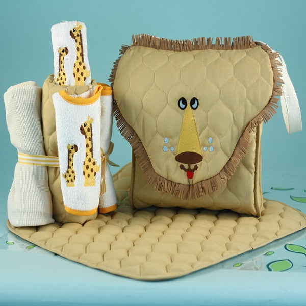Lion Diaper Tote Bag
