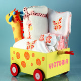 Giraffe Wagon Pull-Toy - Welcoming Home Baby  - 3