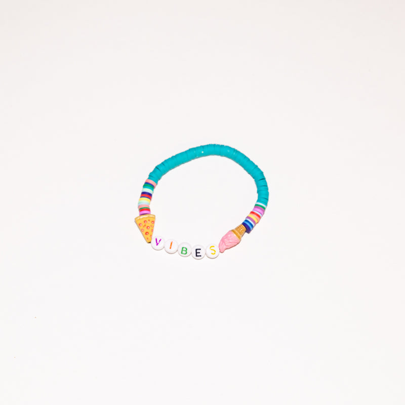 Good Vibes Rainbow Bracelet