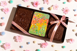 Spring Rainbow Fudge Gift Box