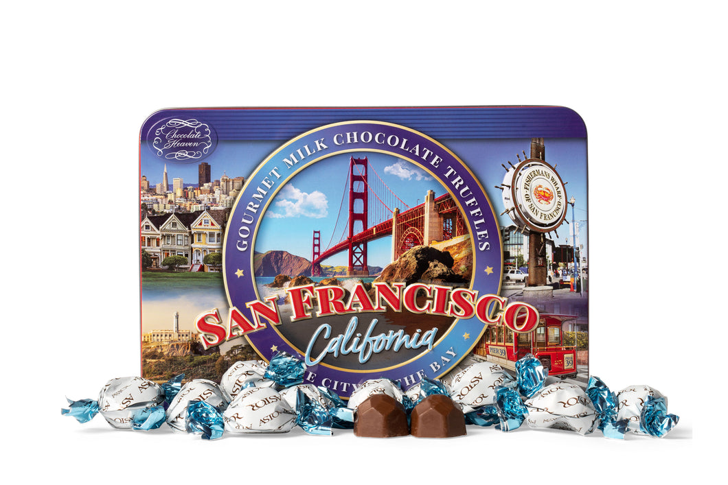 San Francisco Truffle Tin