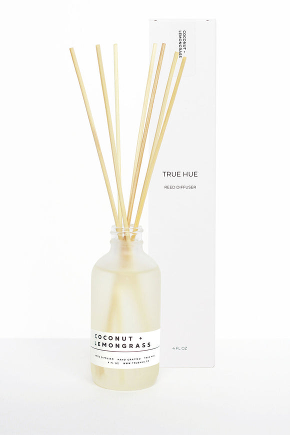 Coconut + Lemongrass Reed Diffuser