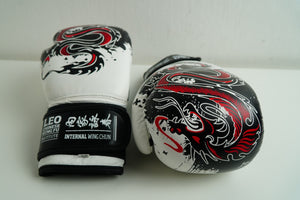 Leo Chinese Kung Fu Leather Professional Boxing Gloves