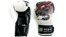 Load image into Gallery viewer, Leo Chinese Kung Fu Leather Professional Boxing Gloves