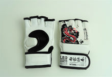 Load image into Gallery viewer, Leo Chinese Kung Fu Leather Professional MMA Gloves