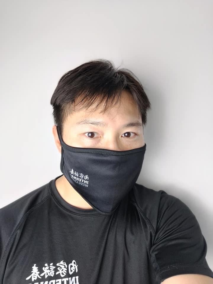 Reusable 3 layers Mask with adjustable clip