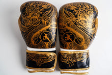 Load image into Gallery viewer, Leo Chinese Kung Fu Premium Gold Dragon Boxing Glove