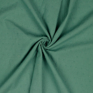 Cotton Dobby - Old Green- $16.00/metre