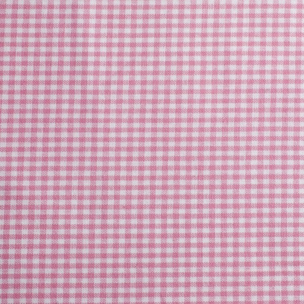 Cotton Checks - white/pink-$18.00/metre