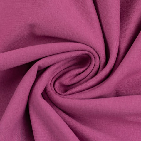French Terry Sweat - Berry - $28.00/metre