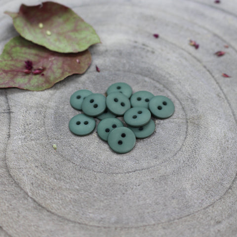 Atelier Brunette Matt Buttons - Cactus- 10mm