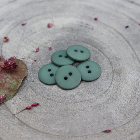 Atelier Brunette Matt Buttons- Cactus - 15mm
