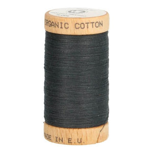 Scanfil Organic Cotton Sewing Thread - Charcoal Grey