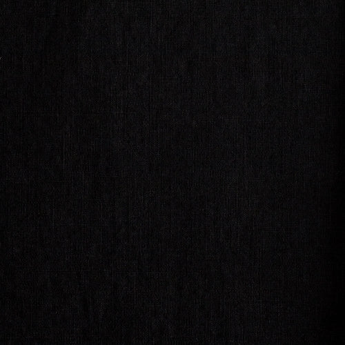 Linen Heavyweight Black - $32.00/metre