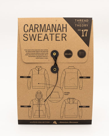 Carmanah Sweater Tissue Pattern