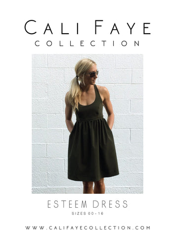 Esteem Dress . PRINTED