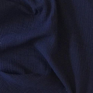 Navy Double Gauze - 1.5m