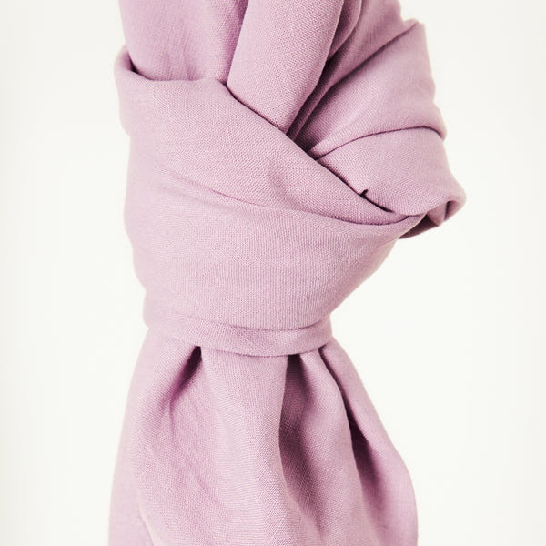 Mind the Maker Nisa Softened Linen- Lilac-- $48.00/metre