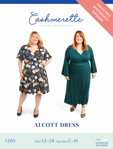 Cashmerette Patterns Alcott Dress