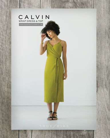 True Bias Calvin Wrap Dress/Top