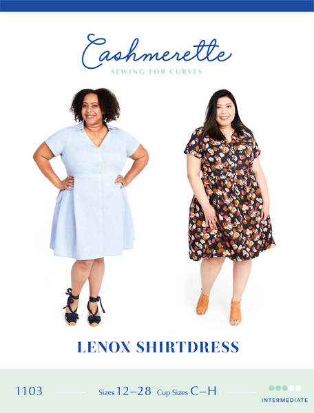 Cashmerette Patterns Lenox ShirtDress