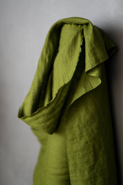 Merchant & Mills Laundered Linen - Bowling Green- $49.00/metre *SOLD OUT*